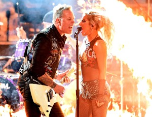Metallica and Lady GaGa Share Grammy's Rehearsal Footage…