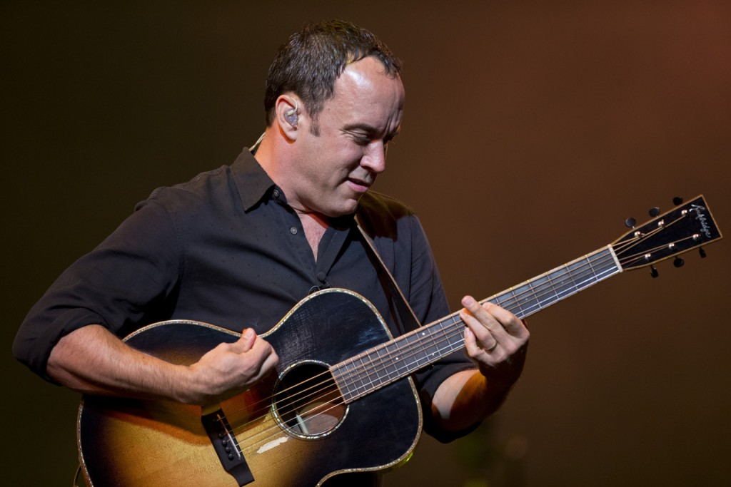 MANSFIELD, MA - JUNE 15: Dave Matthews performs with the Dave Matthews Band at the Comcast Center, June 15, 2013. (Photo by Matthew J. Lee/The Boston Globe via Getty Images)